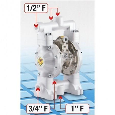 Pompa membranowa 1:1, 60 l/min - RAASM