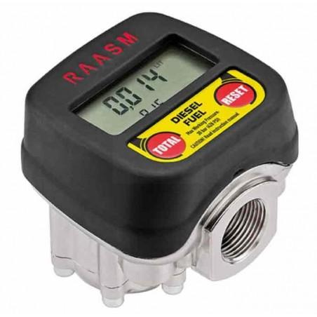 """Licznik paliwa, ON, 1-65 l/min, GW 3/4"""" - RAASM"""
