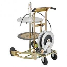 Pneumatyczny zestaw do pompowania smaru na wózku - RAASM