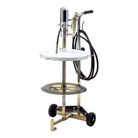 Smarownica pneumatyczna na beczki 50/60 kg na wózku - RAASM