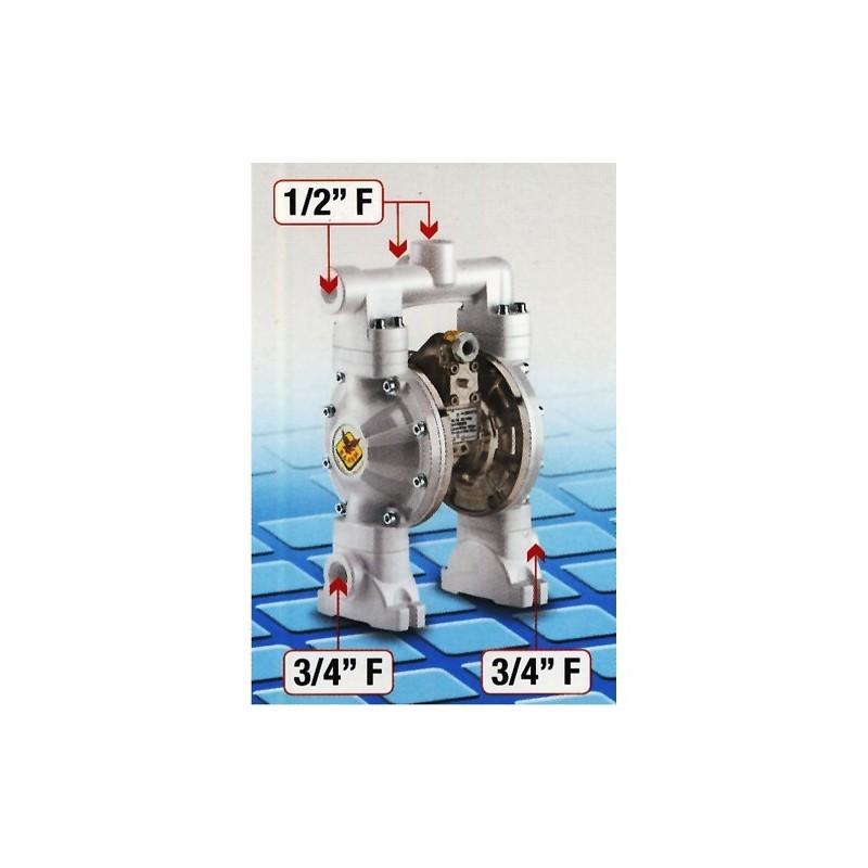 Membranowa pompa 60 l/min Dual RAASM