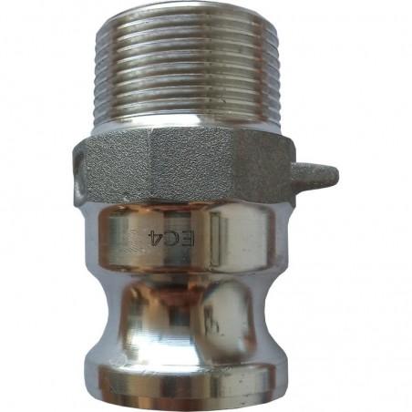 Złącze Camlock Typ F, aluminiowe